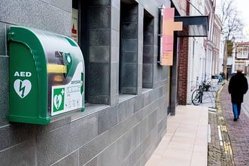 AED aan de muur